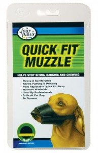Quick Fit Dog Muzzle - All Sizes
