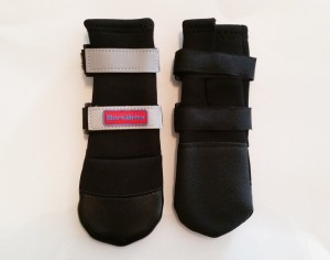 All Weather Dog Boots with Reflective Velcro Straps