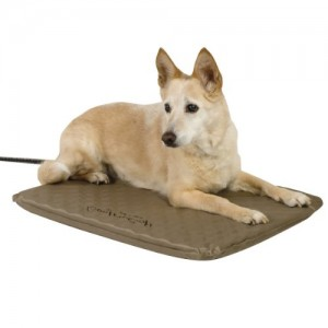 K&H Manufacturing Lectro-Soft Outdoor Heated Bed Tan