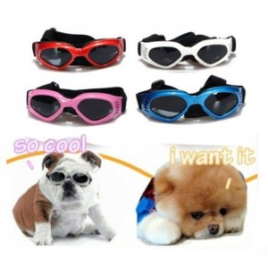 2. Krismile® Multi-Color Dog Sunglasses