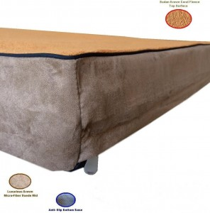 4. Replacement Sudan Coral Fleece Bed Cover