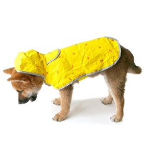 7. Moonshuttle Dog Raincoat