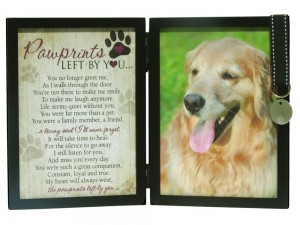 Dog Memorial Tag Frame