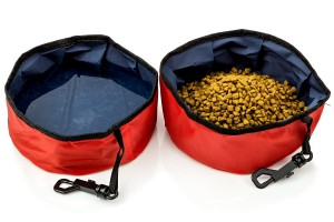 2 Pack Dog Travel Bowl