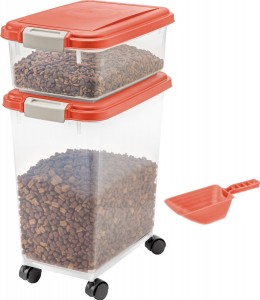 2-in-1 Airtight Dog Food Container