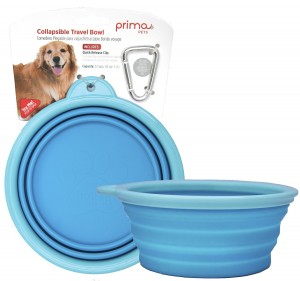 Collapsible Silicone Dog Travel Bowl