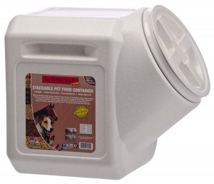 Compact Vault Dog Food Storage