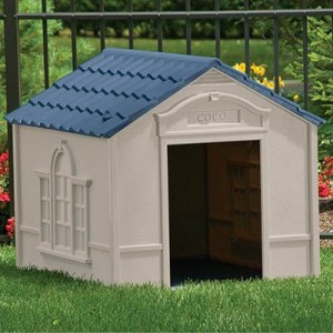 Deluxe Personalized Large Dog House