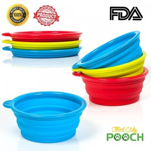 High Quality Easy Clean Dog Travel Bowl