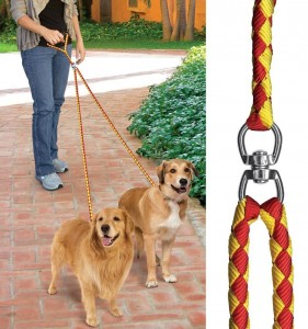 No-Tangle PetIQ Dual Dog Leash