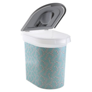 Paw Printed Dog Food Storage