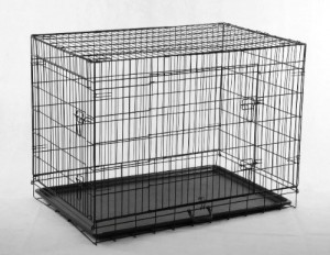 Pet Wire Cage with ABS Pan