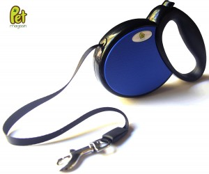 Ribbon Style Retractable Dog Leash