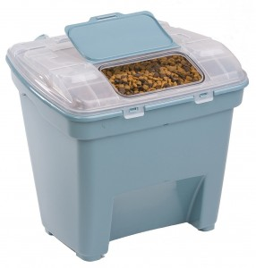 Smart Blue Dog Food Storage