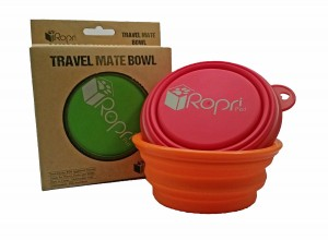 Travel Dog Bowl by RopriPets