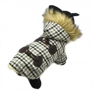Bailey Fur Hooded Coat