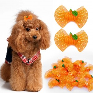 Berry Pumpkin Hairbows