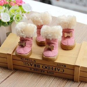 Color House Non-Slip Winter Dog Boots