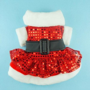 Fitwarm Noble Bling Bling Xmas Dog Dress