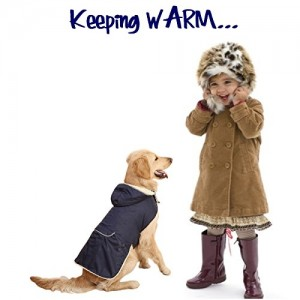 HRS4Pets, Navy Blue Nylon with Cozy Fleece Lining