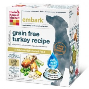 Honest Kitchen Embark Grain Free Turkey Recipe