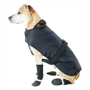 Muttluks 3-layer Belted Winter Dog Coat